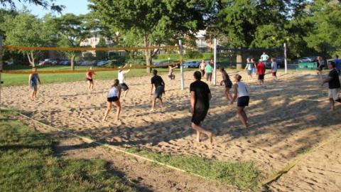 Co-Ed Sand Volleyball League